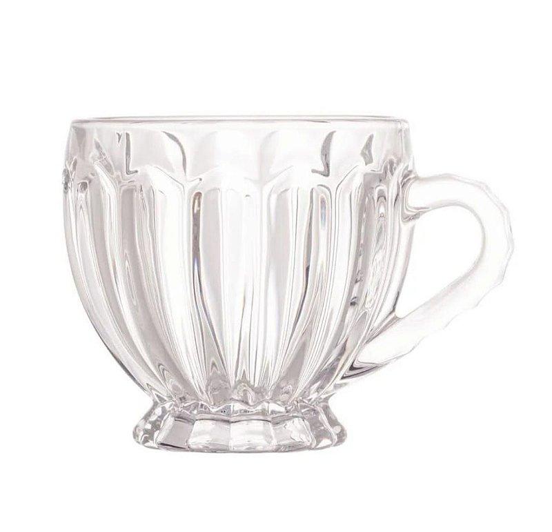 Xícara de vidro Renaissance para chá Lyor 200ml