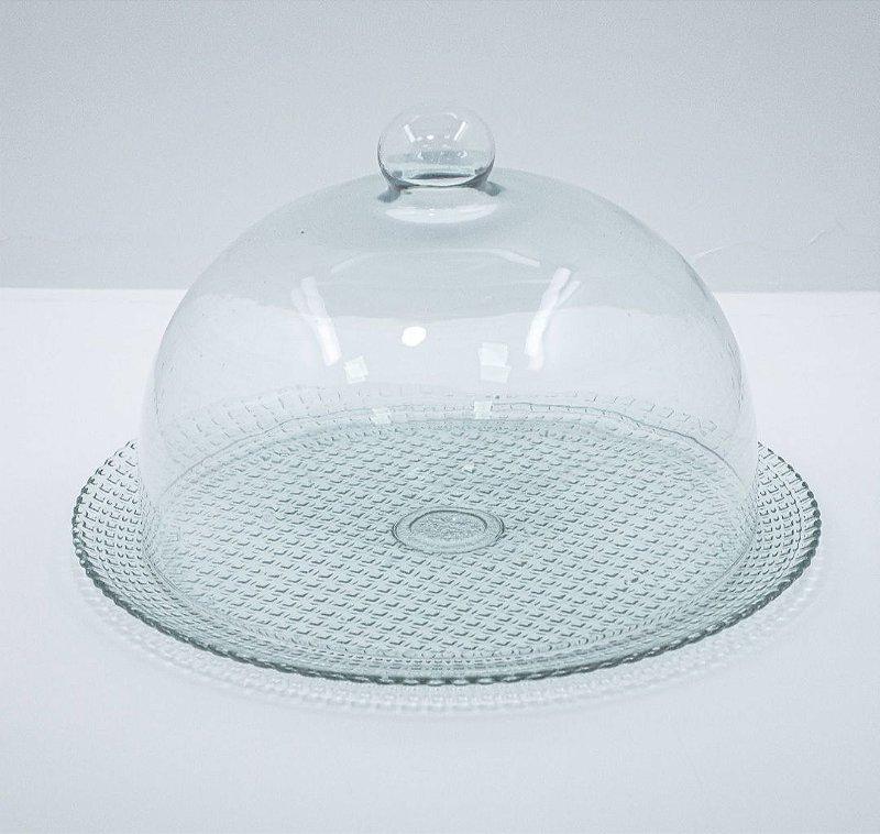 Boleira de vidro Lumare