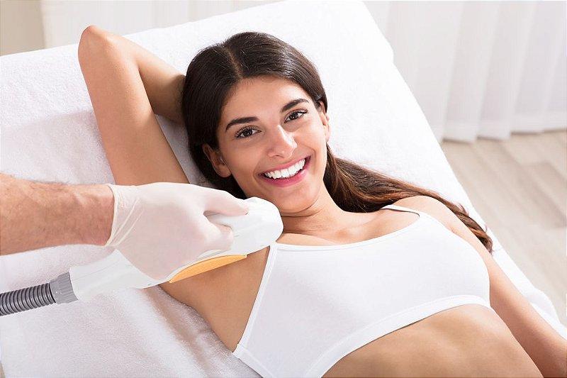 """IPL EPIL para depilação """"definitiva"""" (permanente) VIP WAY realizada por Fisioterapeuta. Combo com 4 visitas para axilas ou virilhas (leia a descrição)!"""