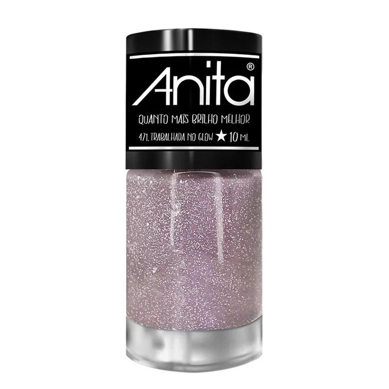 Esmalte Anita quanto mais brilho melhor levanta o astral 10ml