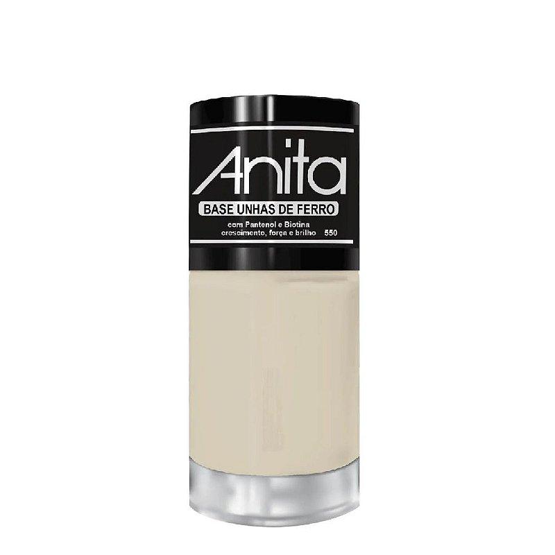 Esmalte Anita Tratamento base de unhas de ferro 10ml