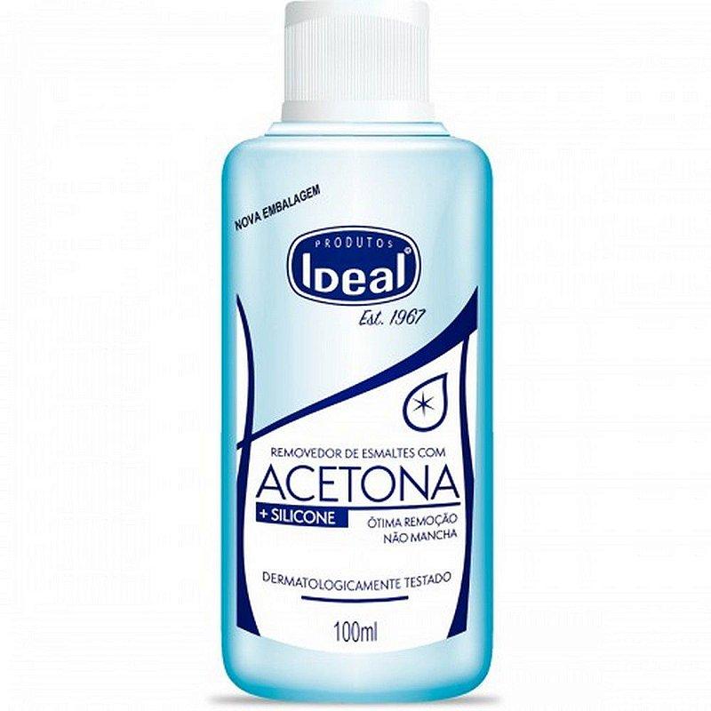 Removedor de acetona Ideal 100ml