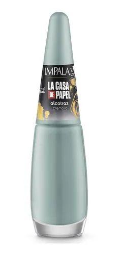 Esmalte Impala La Casa De Papel Cremoso Alcatraz 7,5ml