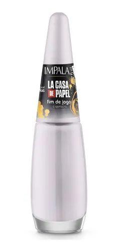 Esmalte Impala La Casa De Papel Cremoso Fim De Jogo 7,5ml