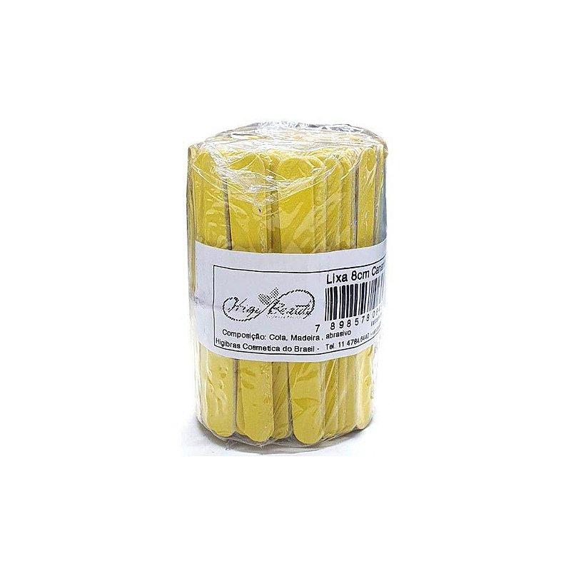 Mini Lixa de unha canario com 144 un