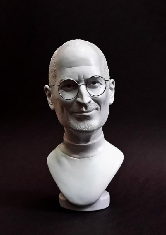 Mini Retrato Steve Jobs