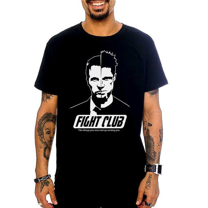 Camiseta Clube Da Luta Blitzart Camisetas Legais Criativas E
