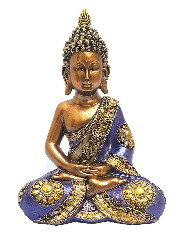 Escultura decorativa buda meditando arte sintonia artes e decora es - Escultura decorativa ...