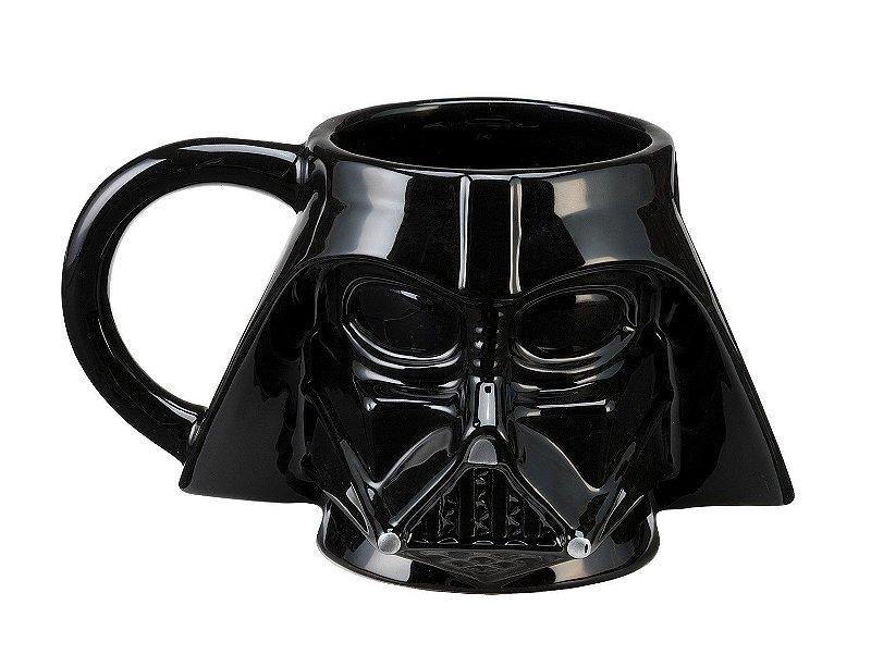 Caneca Porcelana 3d Darth Vader Star Wars Lojatip Presentes