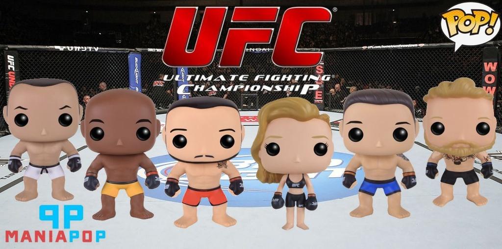 Funko Pop - UFC - Anderson Silve ou Jose Aldo ou Ronda Rousey ou Chris Weidman