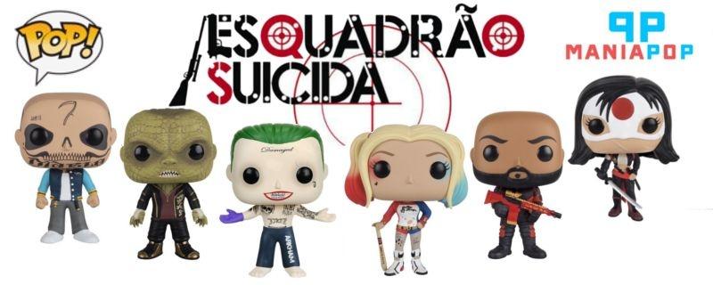 Funko Pop - Esquadrão Suicida - Harley Quinn ou Curinga ou Katana