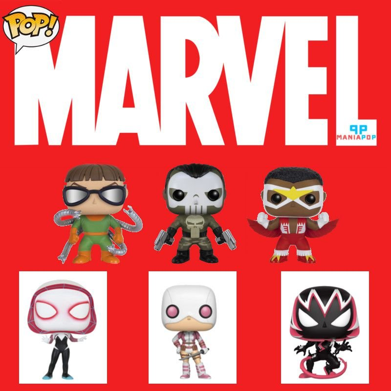 Funko Pop - Personagens Marvel - Vendidos Separadamente