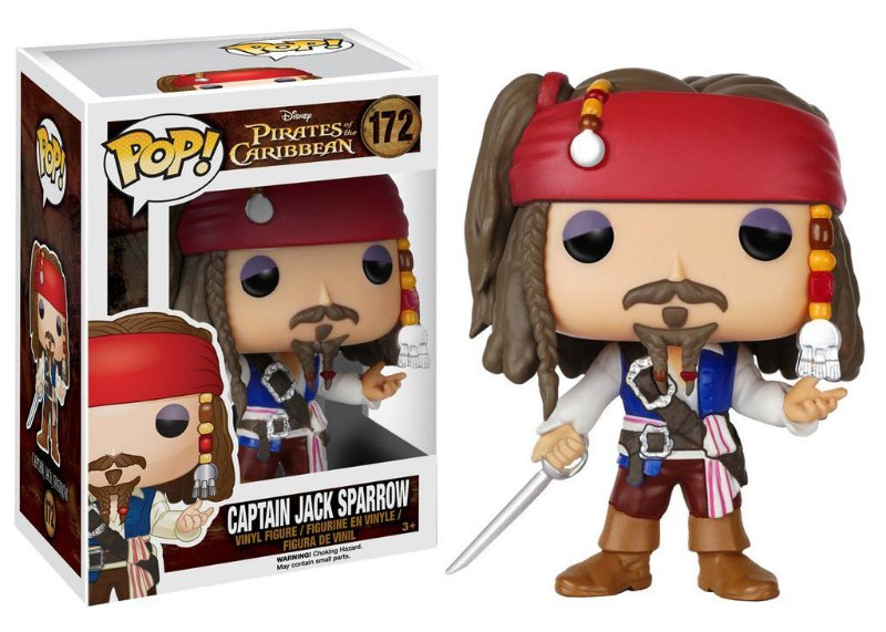 Funko Pop - Piratas do Caribe - Jack Sparrow