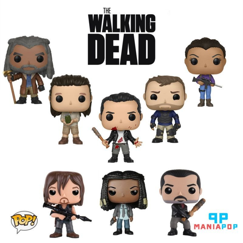 Funko Pop - The Walking Dead - Vendidos Separadamente