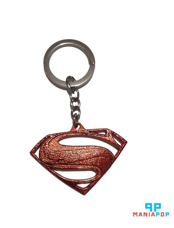 Chaveiro metálico - Símbolo Superman