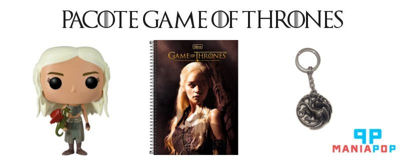 Pacote Game of Thrones - Targaryen
