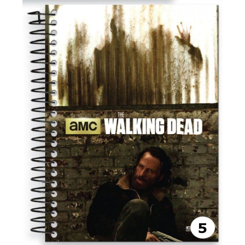 Caderno Universitário Capa Dura 96 folhas - The Walking Dead