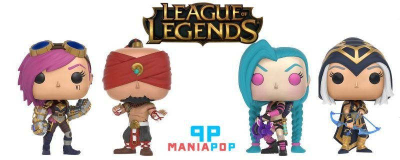 Funko Pop - League of Legends - LoL - Vendidos Separadamente