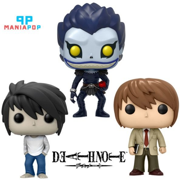 Funko Pop Death Note - L ou Light ou Riuk