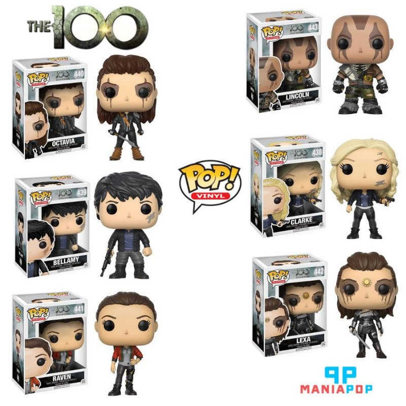 Funko Pop The 100 - Vendidos Separadamente