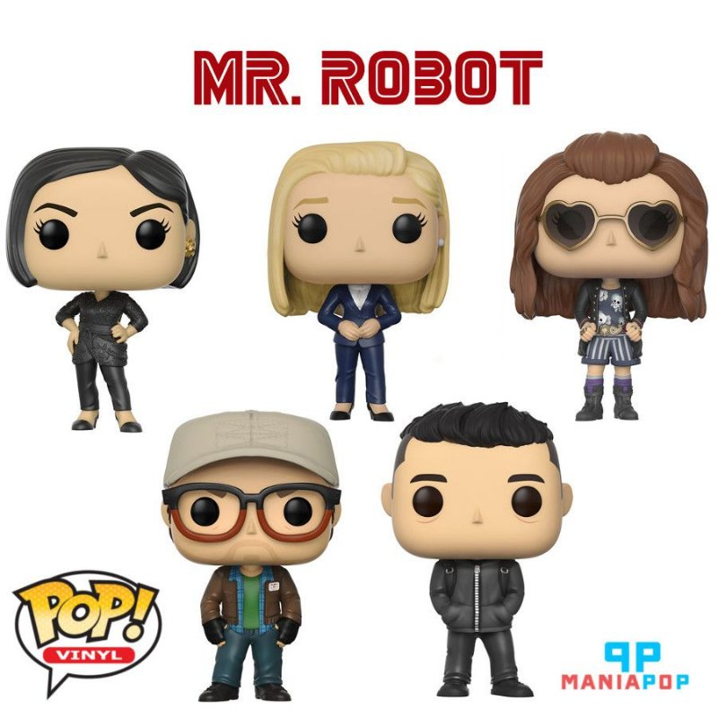 Funko Pop - Mr Robot - Vendidos Separadamente