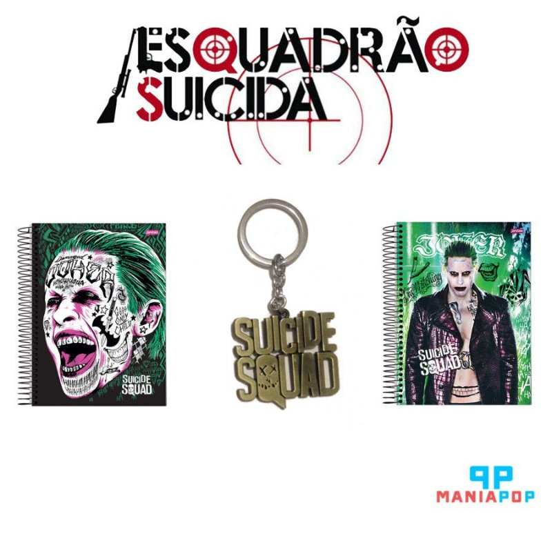 Pacote Coringa - Esquadrão Suicida