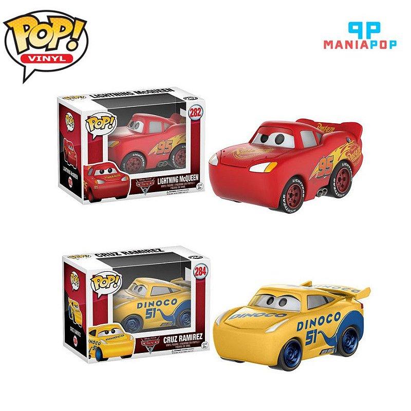 Funko Pop - Carros - Disney - Vendidos Separadamente