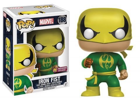 Funko Pop - Punho de Ferro - Marvel
