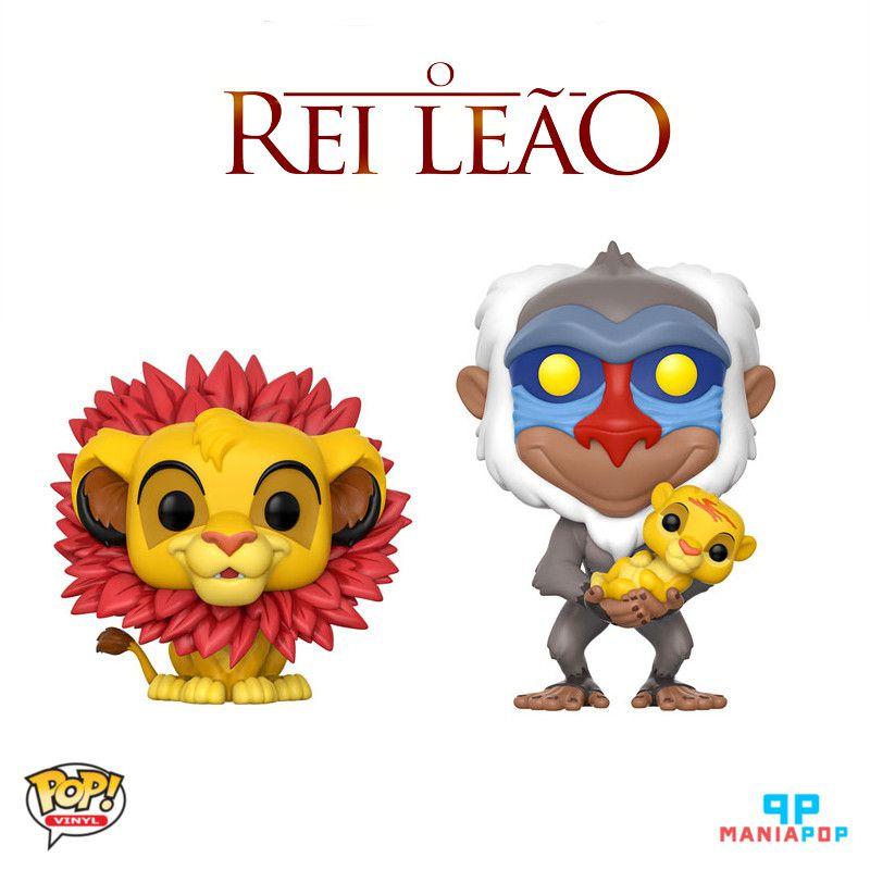 Funko Pop - O Rei Leão - Vendidos Separadamente
