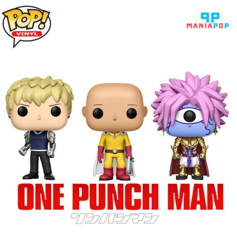 Funko Pop - One Punch Man - Vendidos Separadamente