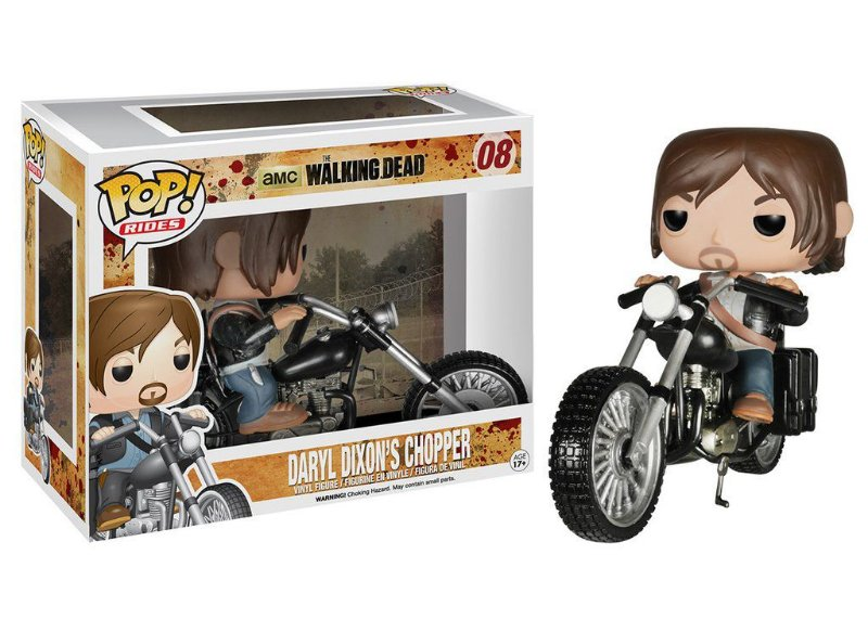 Funko Daryl Dixon Motociclista - The Walking Dead
