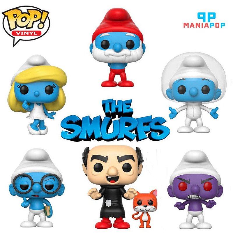 Funko Pop - Smurfs - Vendidos Separadamente