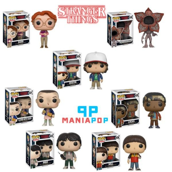 Funko Pop - Stranger Things - Vendidos Separadamente