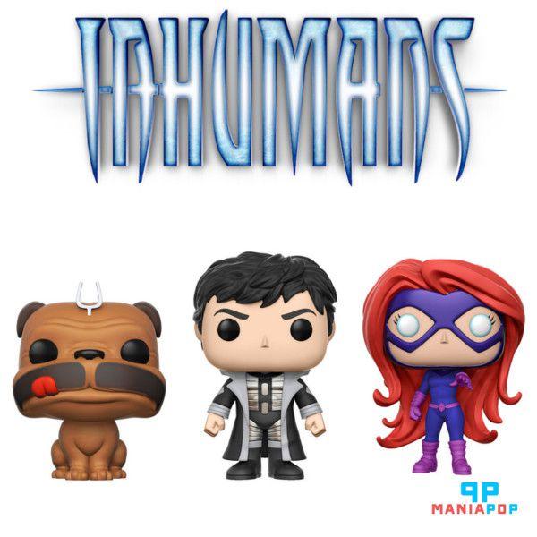Funko Pop - Inumanos - Marvel - Vendidos Separadamente