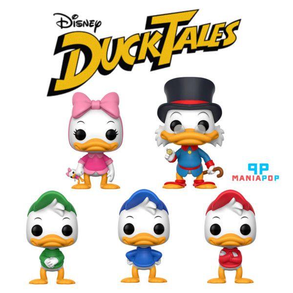 Funko Pop - DuckTales - Disney - Vendidos Separadamente