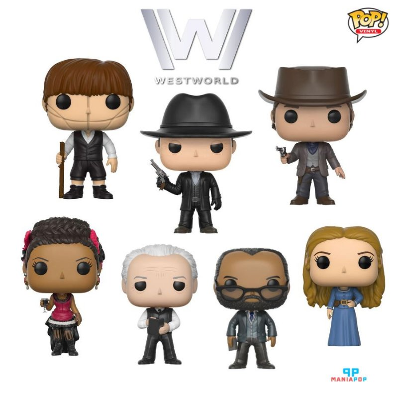 Funko Pop - Westworld - HBO - Vendidos Separadamente