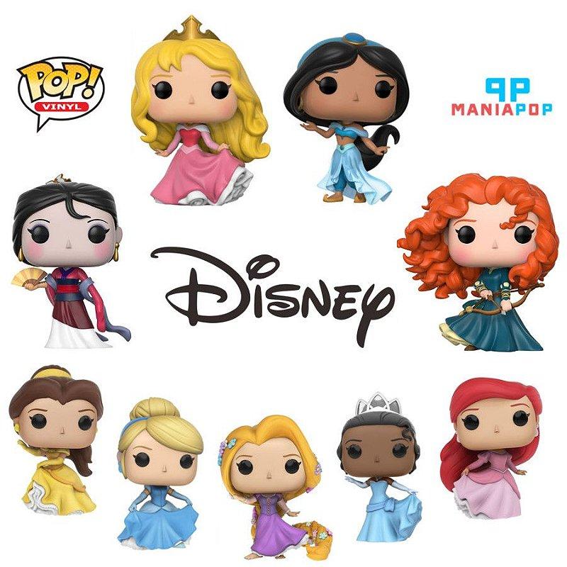 Pacote de Funkos - Princesas Disney