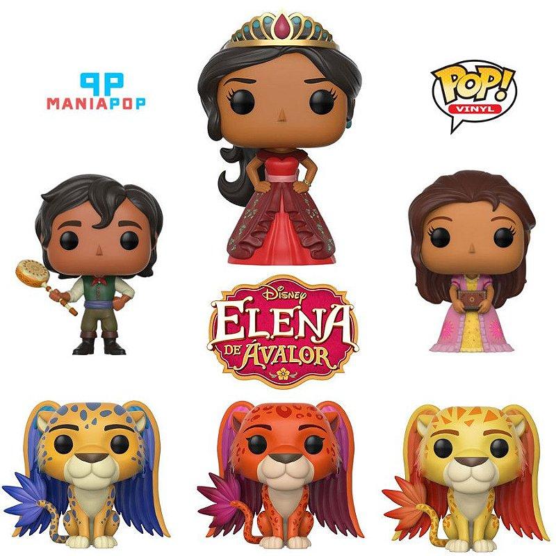 Funko Pop - Elena de Avalor - Disney - Vendidos Separadamente
