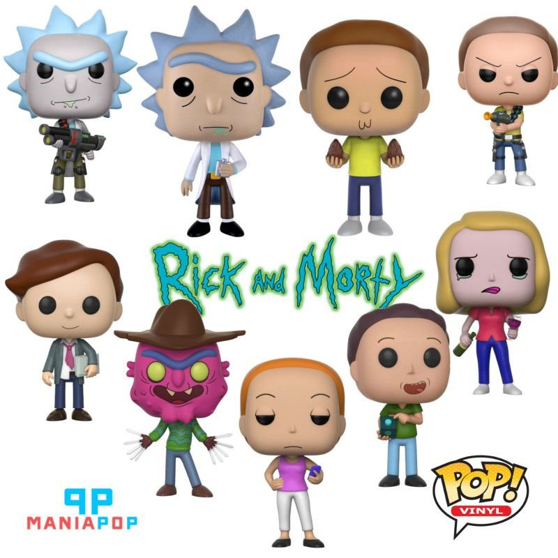 Funko Pop - Rick and Morty - Vendidos Separadamente