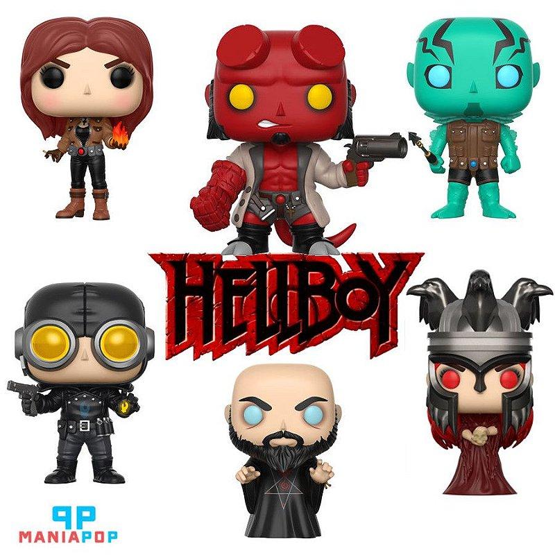 Funko Pop - Hellboy - Vendidos Separadamente