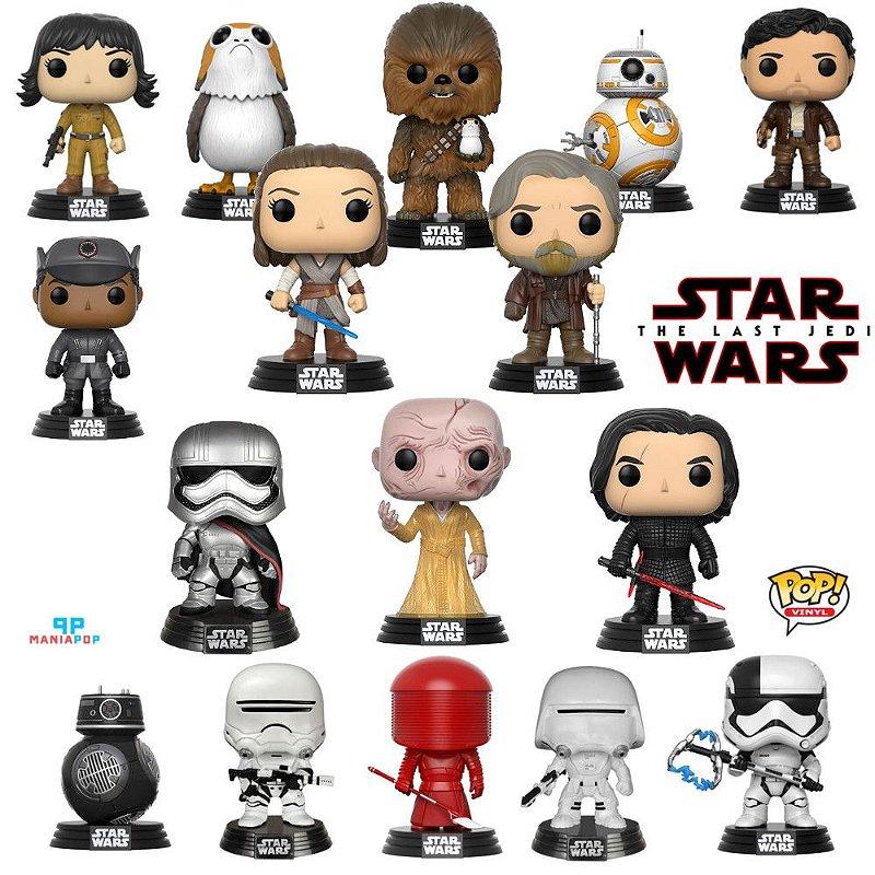 Funko Pop - Star Wars - Os Ultimos Jedi - Vendidos Separadamente