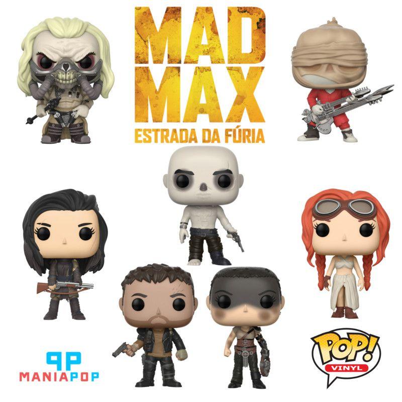 Funko Pop - Mad Max - Estrada da Furia - Vendidos Separadamente