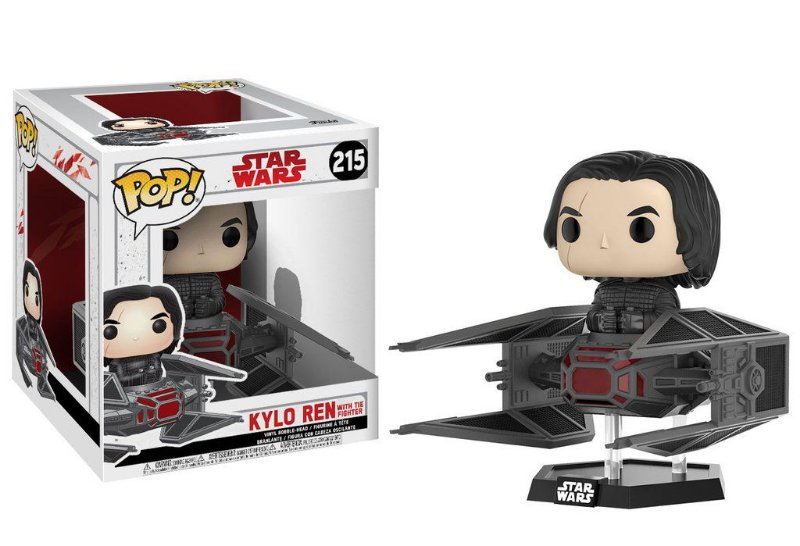 Funko Pop - Kylo Ren com TIE Fighter - Star Wars - Os Últimos Jedi