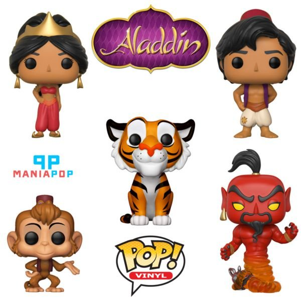 Funko Pop - Aladdin - Disney - Vendidos Separadamente