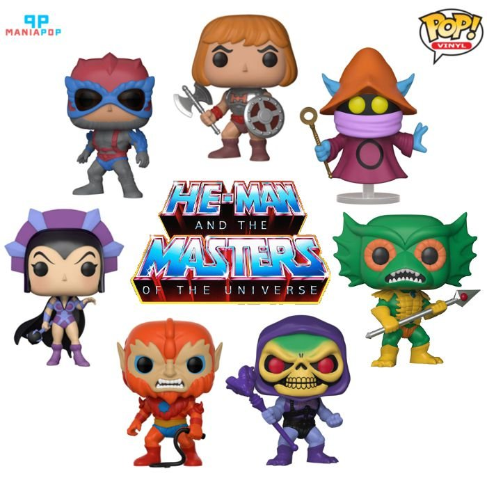 Funko Pop - He-man - Mestres do Universo
