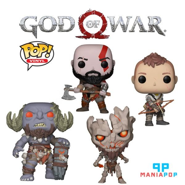 Funko Pop - God of War - Vendidos Separadamente