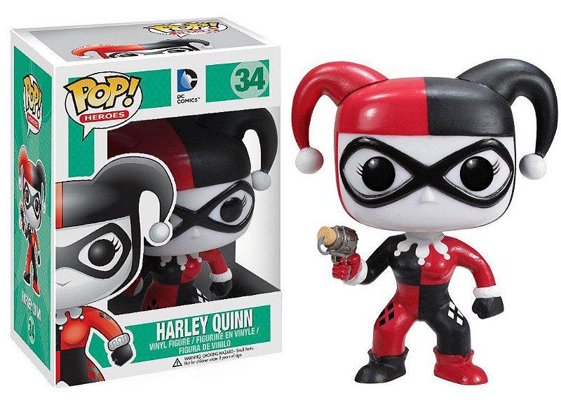Funko Pop - Harley Quinn com Revolver - DC Comics
