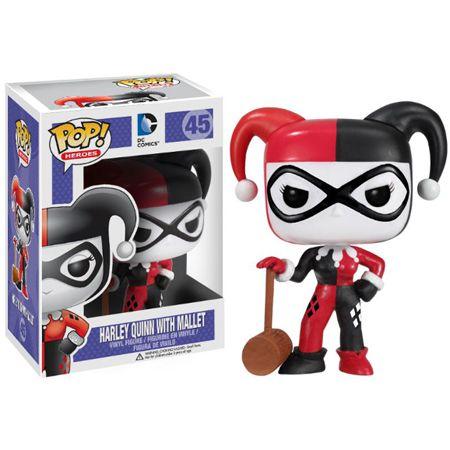Funko Pop - Harley Quinn com Marreta - DC Comics