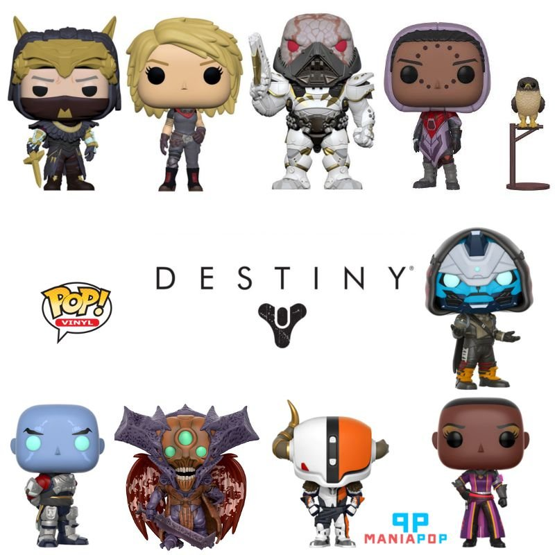 Funko Pop - Destiny - Game - Vendidos Separadamente