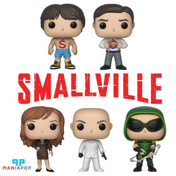 Funko Pop - Smallville - Vendidos Separadamente